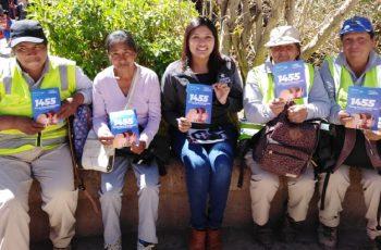 Alumnos de San pedro de Atacama reciben orientación sobre violencia en el pololeo