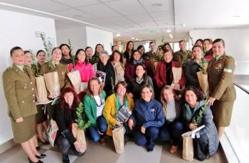 Autoridades del Gobierno Regional saludan a las madres de la Provincia de Curicó