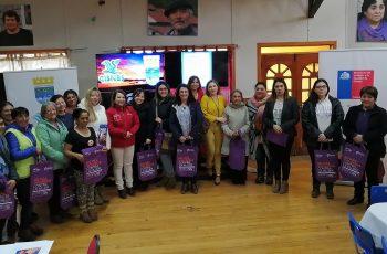 En la junta mujeres de Aysén conmemoran el Día Internacional de la Eliminación de la Violencia contra la Mujer