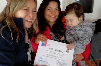Seremi Bárbara Hennig certificó a 60 mujeres Jefas de Hogar de Quirihue