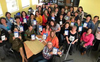 Dirigentas de San Antonio conocen nueva campaña de prevención de violencia contra la mujer
