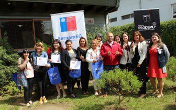 Primeras beneficiarias reciben recursos del Fondo Levántate Mujer en la Provincia del Ranco