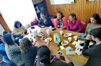 Mujeres de La Junta y Puerto Cisnes dialogan con Seremi de Aysén