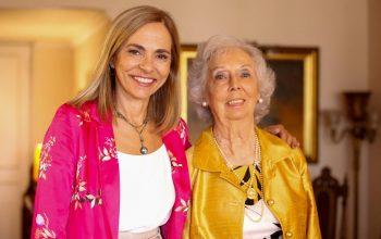 Ministra Plá visita a mujer que sufragó en las primeras elecciones presidenciales que permitieron el #VotoFemenino en Chile