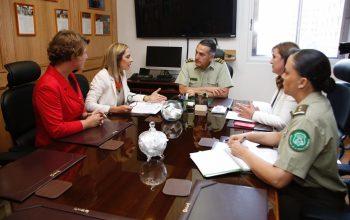 Ministra Plá se reúne con General Director de Carabineros para revisar lineamientos y protocolos del 2020