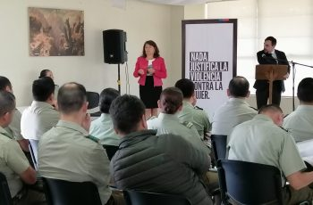 SEREMI realiza capacitación a Carabineros de Temuco en materia de violencia de género