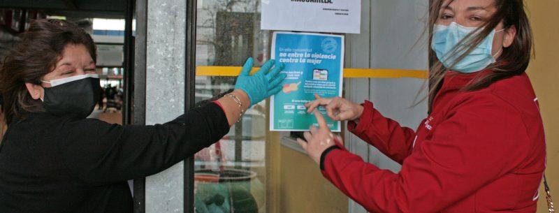 En Mercado Ibáñez lanzan campaña comunitaria para prevenir violencia contra la mujer en medio de la pandemia