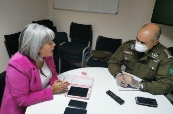 Seremi de la Mujer activa protocolo con carabineros y Fiscal Regional para apoyar a mujeres víctimas de violencia durante cuarentena