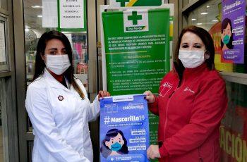 """En Puerto Aysén lanzan campaña """"Mascarilla 19"""", la palabra que puede salvar la vida de una mujer"""