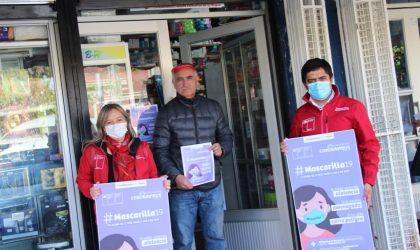 Mascarilla 19: Farmacias de Bulnes se suman a campaña en ayuda de mujeres violentadas