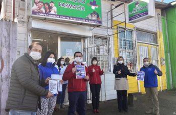 """La provincia de Arauco se suma a la campaña """"Mascarilla 19"""""""