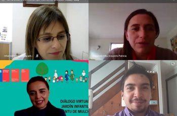 JUNJI Biobío y Seremi de la Mujer y Equidad de Género se unen en diálogos ciudadanos virtuales
