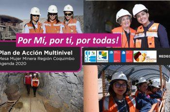 Mesa Mujer y Minería 2020 busca acortar brechas y avanzar en mayor inserción femenina en esta industria