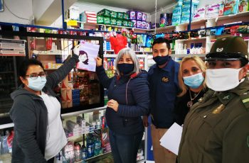 """Farmacias independientes de Salamanca e Illapel se suman a Campaña """"Mascarilla 19"""""""