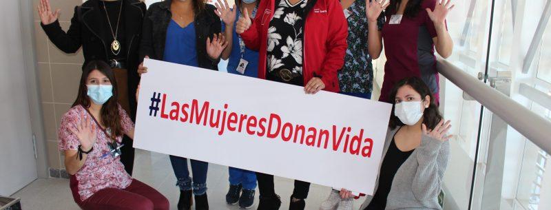 Lanzan campaña #LasMujeresDonanVida y llaman a donar sangre en hospitales de la región de Coquimbo