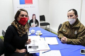 Seremi de la Mujer Los Ríos y Carabineros capacitan a docentes del Instituto Inmaculada Concepción Valdivia en prevención de violencia contra la mujer