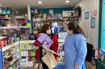 """Más de 30 farmacias de la Región de O´Higgins ya son parte de la iniciativa """"Mascarilla 19"""""""