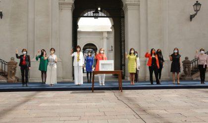 """Primera Dama y Ministra de la Mujer y la Equidad de Género lideran llamado a mujeres a sufragar en el plebiscito: """"Este 25 de octubre nuestra voz debe ser oída""""."""
