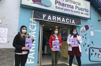 Ratifican convenio con farmacia de barrio para denunciar violencia contra las mujeres