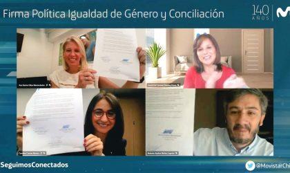 Subsecretaria de la Mujer destaca a Movistar Chile como primera empresa de telecomunicaciones en certificarse en la Norma 3262 de Igualdad de Género y Conciliación