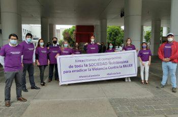 Con llamado a #PonteLaCamiseta autoridades reafirman compromiso para erradicar la Violencia contra la Mujer
