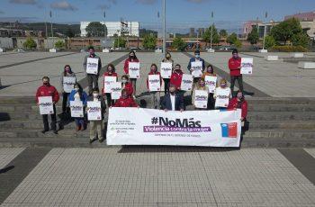 Autoridades conmemoraron el Día Internacional por la Eliminación de la Violencia contra la Mujer