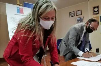 Seremi de la Mujer Ñuble y Municipio de San Fabián firman convenio de colaboración con perspectiva de género