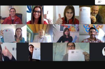Socios de CPC Biobío firman compromiso para erradicar la violencia de género