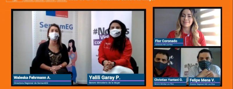 Actividades de Mindep-IND con enfoque de género se suman a Mes de la No Violencia contra la Mujer