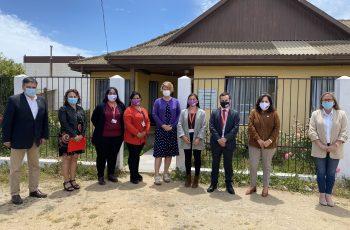 Directora de SernamEG y autoridades regionales visitan Centro de la Mujer de Pichilemu y refuerza compromiso con autoridades locales