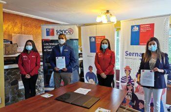 SernamEG y Sence se articulan para promover capacitación de mujeres en Magallanes