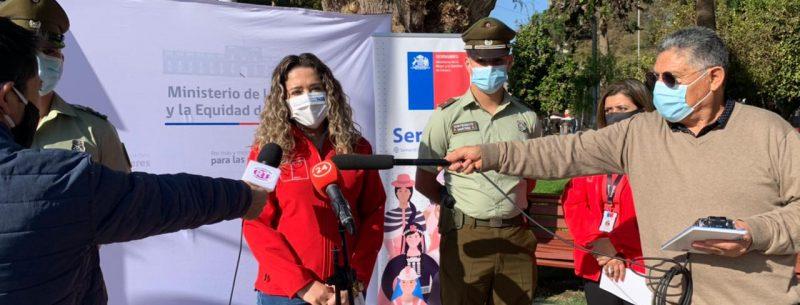 Seremi de la mujer junto a autoridades regionales refuerzan el llamado a realizar denuncias por violencia contra las mujeres