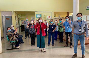 Seremi de la Mujer y la Equidad de Género del Bío Bío participó del proceso de vacunación contra el Covid-19 en Negrete