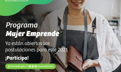 Apoyo a la autonomía económica femenina 60 cupos para postular a la escuela online Mujer Emprende en Magallanes