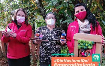 MinMujeryEG y SernamEG Los Ríos, destacan el Día Nacional del Emprendimiento promoviendo negocios locales liderados por mujeres