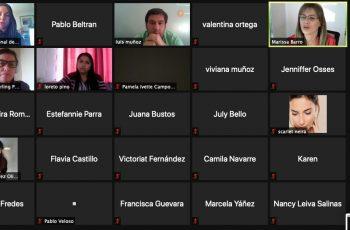Seremi Marissa Barro invitó a postular al programa Mujer Emprende 2021 en webinar con jóvenes