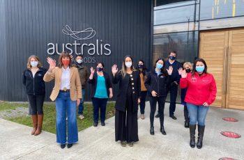 """Australis Seafoods firma """"Norma Chilena 3262"""" y se compromete con políticas sobre Igualdad de Género"""