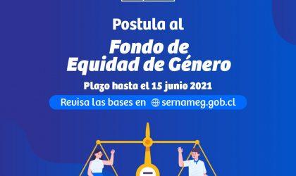 SEREMI Marcia Palma invita a postular al Fondo Equidad de Género