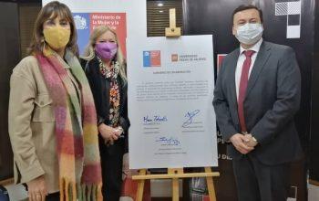 Ministerio de la Mujer y UPV Chillán firman convenio para fomentar la equidad de género en la educación superior