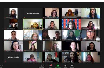 """Con una gran convocatoria virtual se realizaron en las provincias de Curicó y Talca, conversatorios de """"niñas en STEM"""" con el objetivo de generar que más niñas obtén por estudiar carreras en el área de las ciencias, tecnologías, ingenierías y matemáticas."""