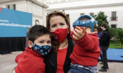 """Presidente Piñera promulga Ley que extiende el Postnatal de Emergencia: """"Estoy convencido que esta ley es un apoyo y una ayuda a la maternidad y a la familia"""""""