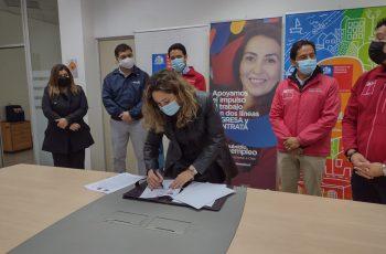 SEREMI DE LA MUJER Y EG, SERVIU y SENCE firman convenio para inserción de personal femenino en el ámbito de la construcción