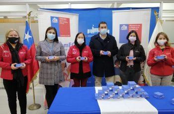 Se dispondrán de 250 para la región:  Entregan dispositivos de emergencia para mujeres sobrevivientes de violencia en Ñuble