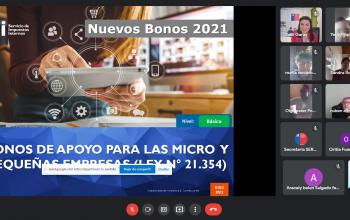 Emprendedoras de Los Ríos recibieron orientación sobre cómo acceder al Bono Alivio a las Micro y Pequeñas Empresas
