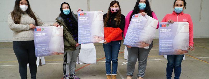 """Campaña """"Conoce tus Derechos"""":  Seremi de la Mujer y la Equidad de Género, junto a Seremi Justicia y Derechos Humanos, dan a conocer campaña a mujeres embarazadas privadas de libertad"""