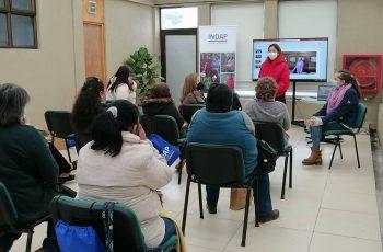 Seremi de la Mujer realiza taller sobre equidad de género, violencia y empoderamiento a mujeres rurales de San Antonio