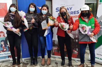 CChC Chillán premió a mujeres de empresas socias por destacado desempeño en área de la construcción