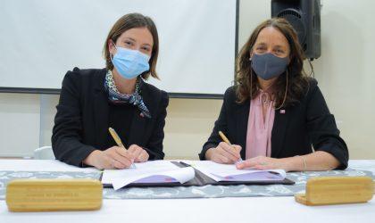 Ministerio de la Mujer y Mejor Niñez firman convenio para capacitar a funcionarios en violencia y estereotipos
